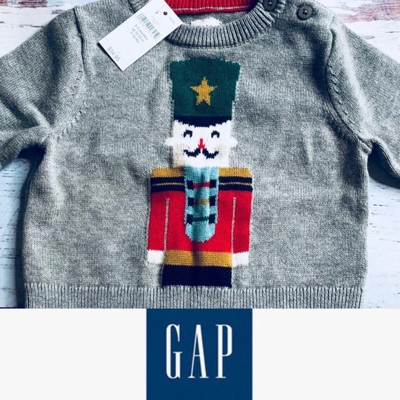 57350f25f GAP Shirts & Tops | Nwt Baby Boys Sweater Sz 03 Mo 35 | Poshmark